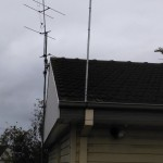 tv antenna installation